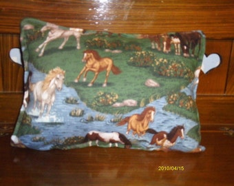 Small Galloping Horse Pillow