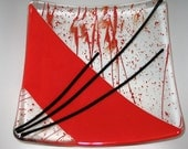 Red and Black plate - Two