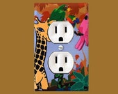 It's A Jungle Out There Outlet Plate
