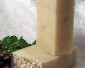 Natural Handmade Soap Oatmeal Unscented FREE SHIPPING