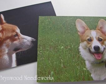 Corgi Notecards, Pembroke Welsh Corgi, Blank Notecards, Greeting Cards