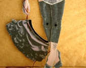 """Burlesque Paper Doll Puppet """"Mae"""" DIY download"""