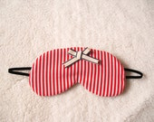 Striped Cotton Sleep Eye Mask(style SAKURANBO)