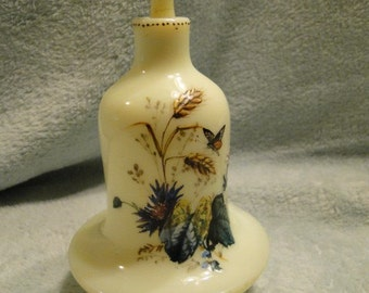 Clambroth Enameled Perfume Decanter -