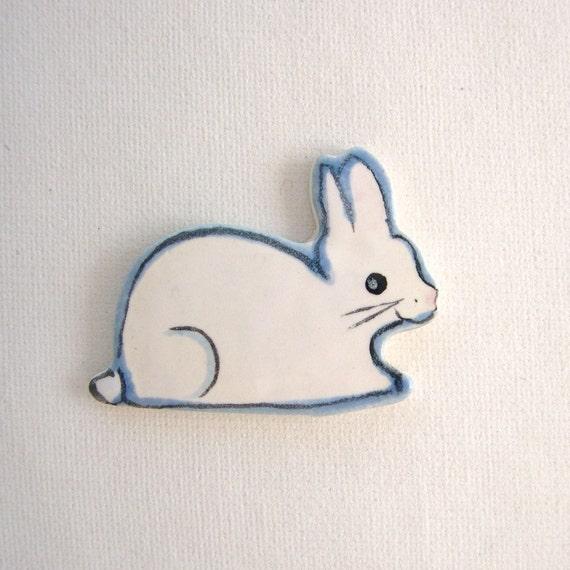 Mosaic tiles rabbit ceramic mosaics supplies by ArtTileMosaics on Etsy
