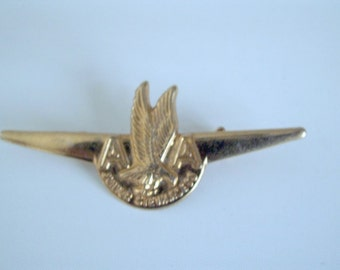 Vintage American Airlines Junior Stewardess Wings