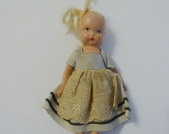 Vintage Story Book Doll