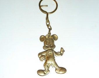 Vintage 1960s Mickey Mouse Walt Disney Key Chain