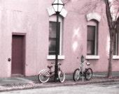 "Charleston Photography, Vintage Bicycle Photo, Charleston Street Photos, Romantic Charleston, Fine Art Photo 8"" x 12"""