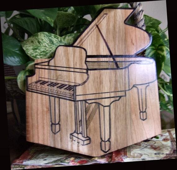 Baby Grand Piano Cutting Board