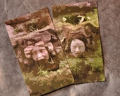 Faces of Nature magnets (both)