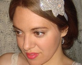 Wedding Headband, Bridal Headband- Petal, Rhinestone Headband, Headband, Wedding, Accessories, Crystal Headband, Bridal Accessories