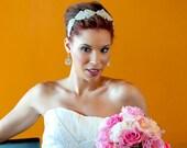 Wedding Headband- DUCHESS, rhinestone headband, headband, Bridal Headband, Wedding Headpiece, Bridal Headpiece, crystal headband