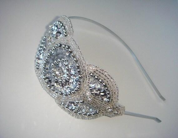 Headband- ROYALE, hair accessory, rhinestone headband, accessories, Wedding Headband, Bridal Headband,  Wedding Accessories