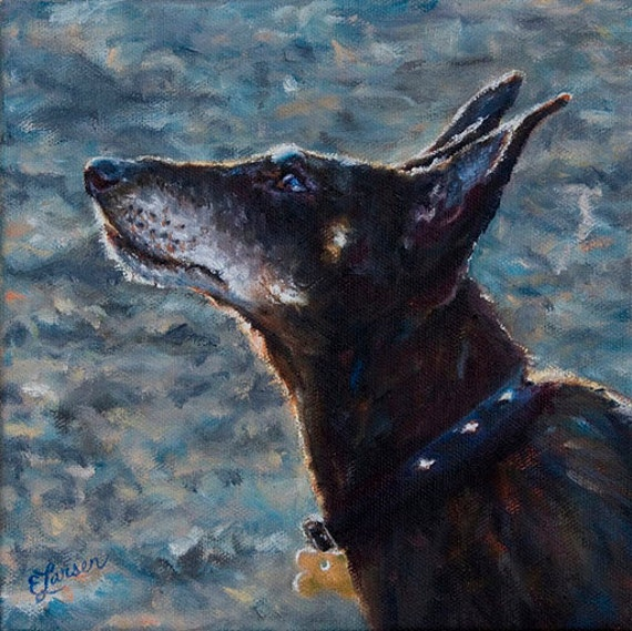 Undivided Attention - Giclee Print with Mat