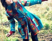 Custom Order- Shawl Collar Navajo Wool Blanket Coat - RESERVED FOR MCKAYLA
