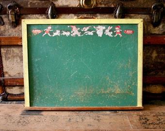 Vintage Nursery Childrens Chalk Board