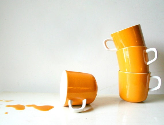 Vintage Mid Century Modern Cups - Photography Print