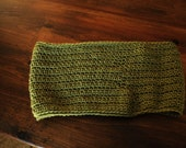 WINTER SALE Sap Green Cowl neck Scarf warm and cozy