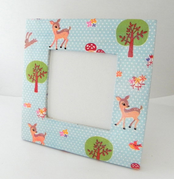 Cute little forest mini picture frame - REDUCED