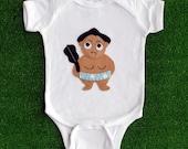 DOSUKOI Sumo Wrestler Infant Bodysuit
