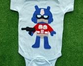 Giant Mega Robot Infant Bodysuit