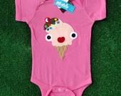 Yummy Naughty Ice-cream Infant Bodysuit