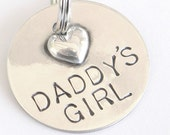 Sterling Silver Pet Tag For Daddy's Girl or Mama's Boy