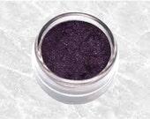 Dark  purple Eyeliner PASSION plum violet black mineral bare Eyeliner Sifter Jar Mineral Makeup Eyeshadow Cosmetics TiaraLx Minerals