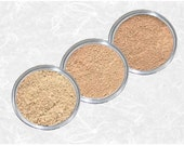 Mineral Foundation samples Fairest Light - Light - Beige Matte Face powder set Bare golden skin tone kit Makeup base Cosmetics TiaraLx
