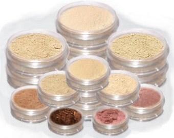 Mineral Foundation set FAIREST LIGHT & LIGHT bare matte blush Veil eyeshadow brown eyeliner concealer Face Makeup Kit Cosmetics TiaraLx 32g