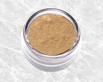 Mineral EyeShadow brown SUNLIT Eye shadow liner beige tan eyeliner powder sifter Natural Makeup Cosmetics TiaraLx Minerals