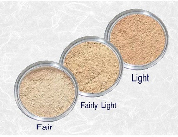 Items Similar To Mineral Foundation Set Fair Fairest