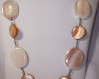 Exotic Natural Color Shell Necklace Set - FREE SHIPPING