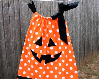 Jack o Lantern Pillow Case Dress dress