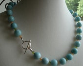 Courage.... Amazonite with Aventurine