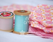NEW - Set of 3 Pretty Threads Note Cards