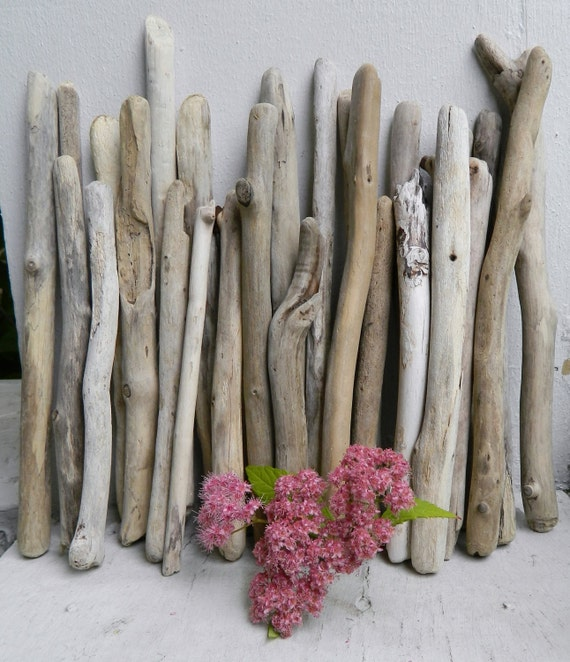 On Sale Beach House Driftwood Short Sticks Collection Of