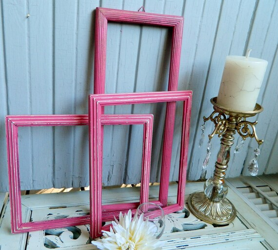 frame collection pink fabulous girly vintage home decor on