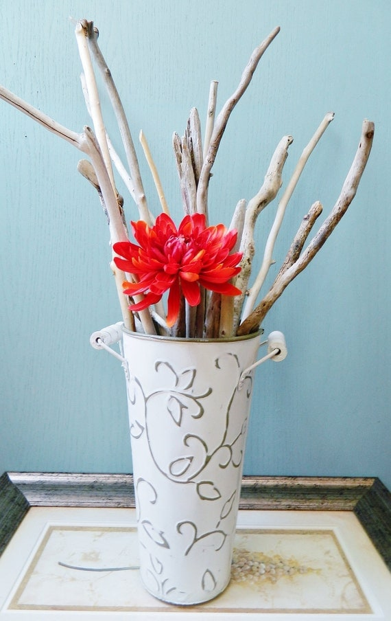 Tall Natural Driftwood Branches Make Your Own Beach House Centerpiece Instant Coastal Collection of 18