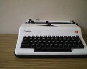 RESERVED Olympia Electronic Portable Typewriter