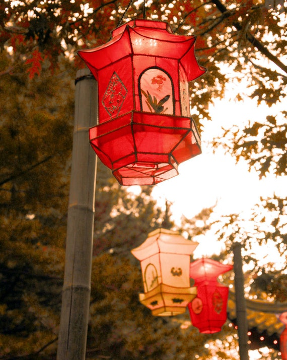 items similar to chinese lanterns red yellow paper