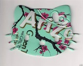 Hello Kitty With Heart Bow, Airzona Green Tea, Big Magnet