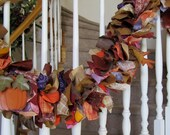 Fall Garland with ornaments