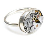 Petite Ebel - Steampunk Sterling Silver Ring