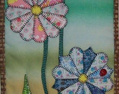 Dresden Daisies - Reproduction Quilted Wall Hanging Pattern Download