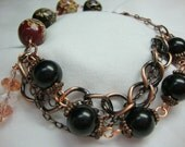 Antique Copper Gypsy Bracelet