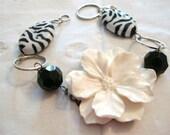Floral Zebra Bracelet