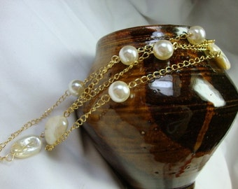 Pearls From the Deep Necklace