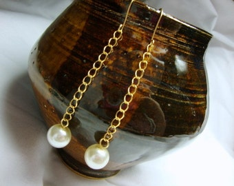 Pearls from the Deep Earrings